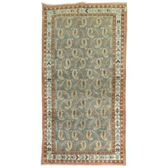 Persian Tabriz Paisley Design Rug
