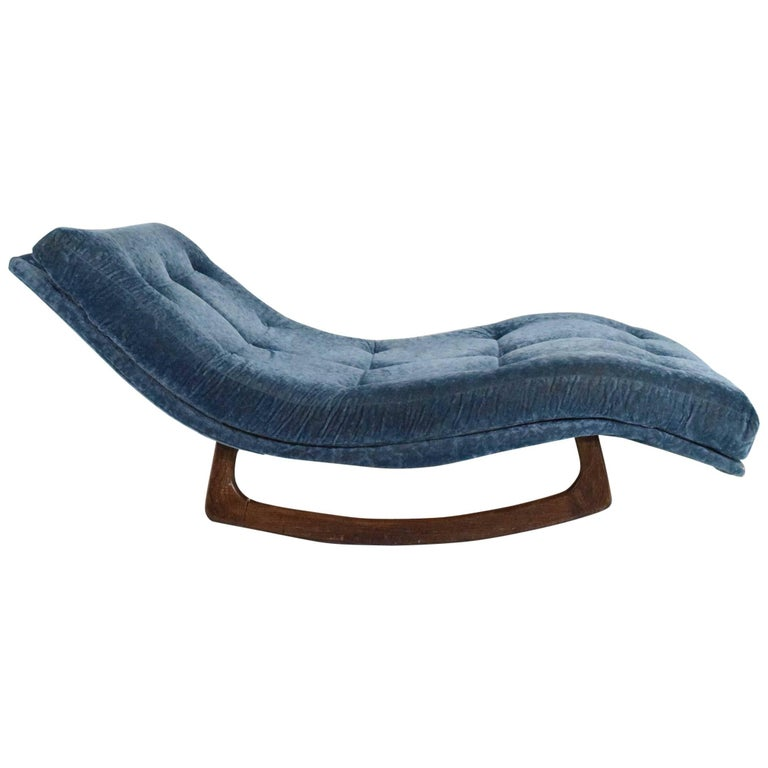adrian pearsall double wide rocking chaise for sale at 1stdibs On adrian pearsall rocking chaise