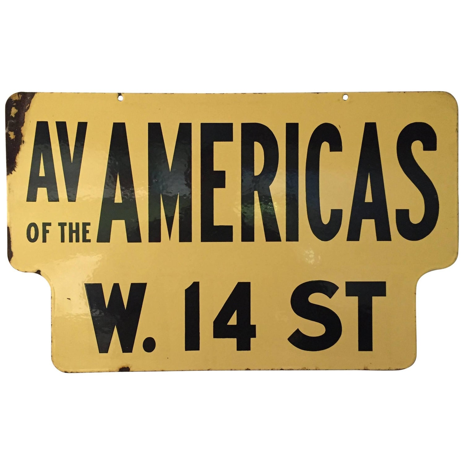 1950s Signs - 134 For Sale at 1stdibs