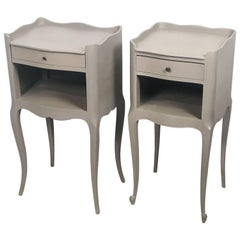 French Painted Side Tables or Night Stands 'Individually Priced'