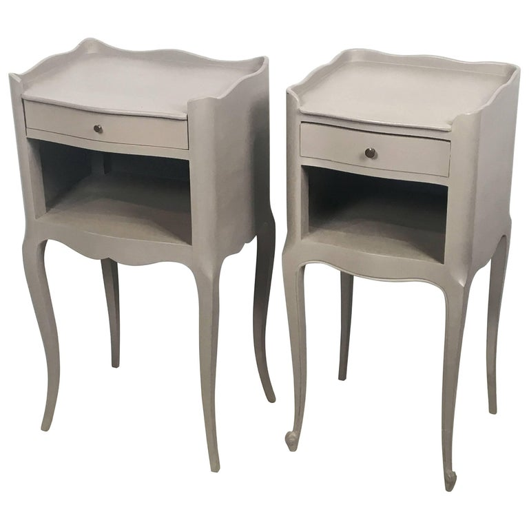 French Painted Side Tables or Nightstands 'Individually Priced' For Sale