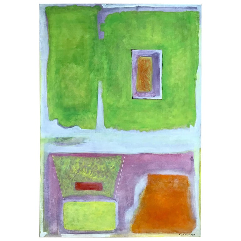 Ann E. Friedlander, Untitled I Oil on Canvas For Sale