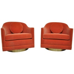 Harvey Probber Swivel Chairs