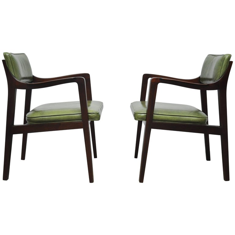 "Edward Wormley for Dunbar ""Riemerschmidt"" Armchairs For Sale"