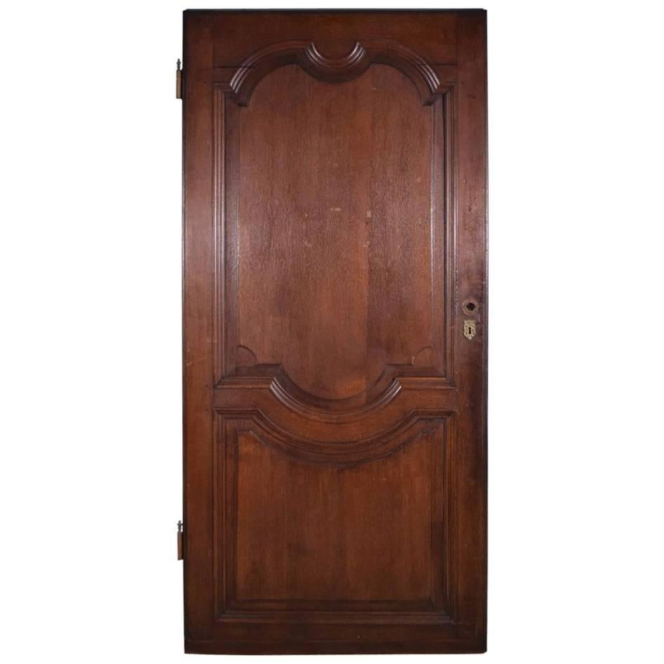 Antique French Oak Wood Door from the 1700s or Early 1800s  sc 1 st  1stDibs & Impressive Massive Wood Antique French Castle Door For Sale at 1stdibs