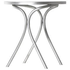 Moroso St Mark Bistro Table in Aluminium for Indoor and Outdoor Use