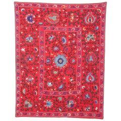 Late 19th Century Small Suzani from Uzbekistan