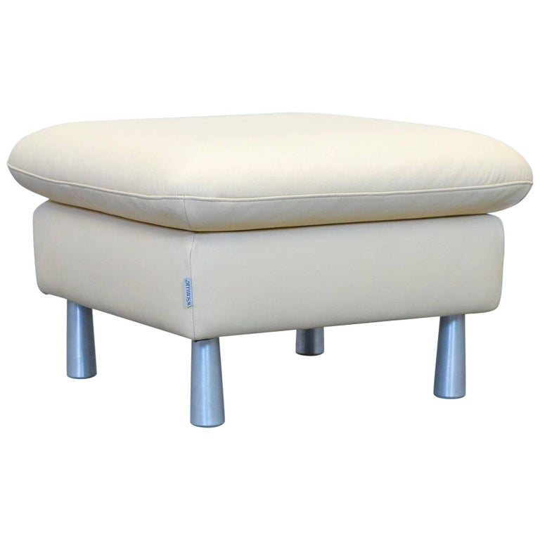 willi schillig loop designer footstool leather beige one seat couch for sale at 1stdibs. Black Bedroom Furniture Sets. Home Design Ideas
