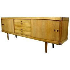 Vintage Oak Sideboard designed by H.W. Klein for Bramin Møbler, Denmark
