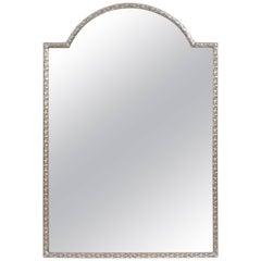 Silver Plated Bronze Dressing Table Mirror, French, Late 19th Century