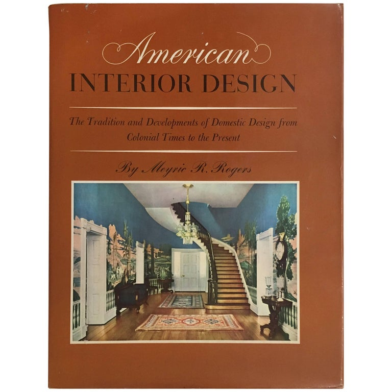 American Interior Design For Sale At 1stdibs