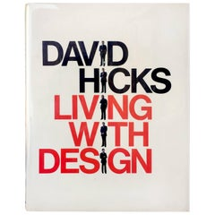 David Hicks Living With Design  Book 1979