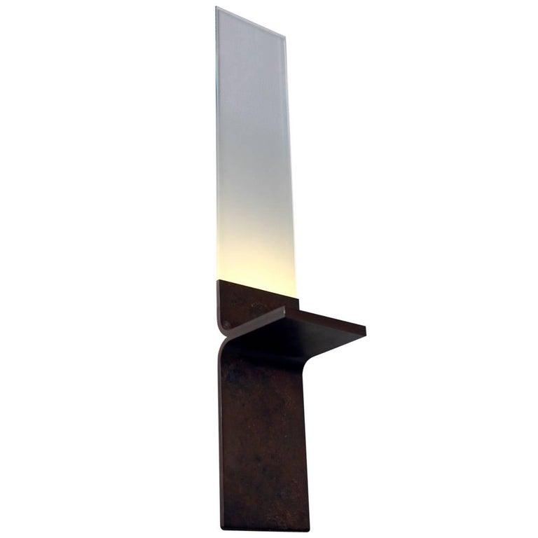 Monolith, Starfire Glass Lighting, Luvere Studio For Sale
