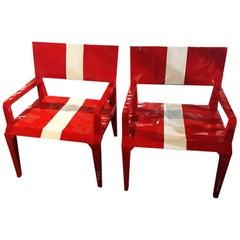 Bugatti Racing Chair, Set of Two