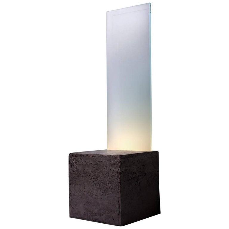 Plinth Table Lamp, Luvere Studio