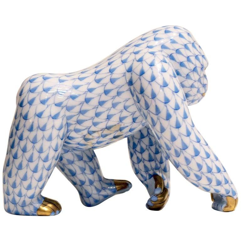 Herend Porcelain Gorilla