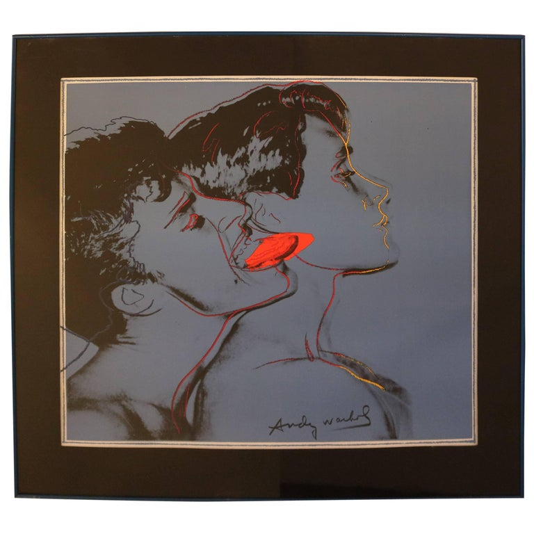 """Print of Andy Warhol Poster for the 1982 Film """"Querelle"""""""