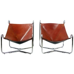 Gianni Pareschi and Ezio Didone Baffo Lounge Chairs for Busnelli, Italy, 1969