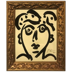Peter Keil Expressionist Portrait 'Lover Boy'