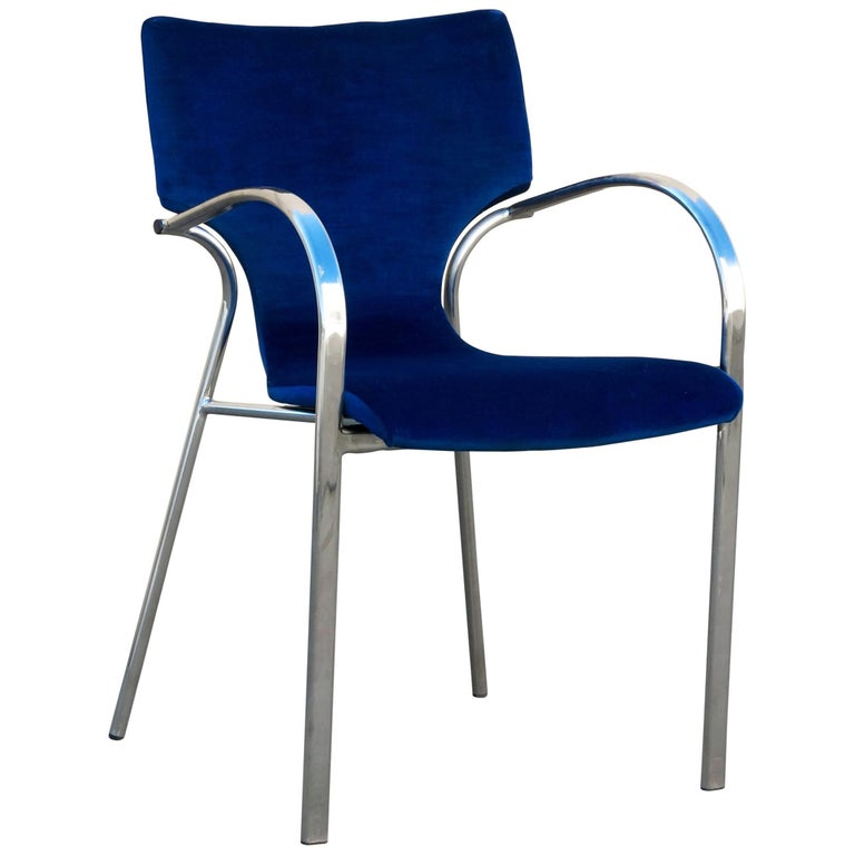 Vintage strada side chair by bernhardt design for sale at