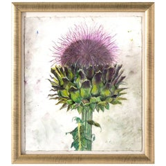 Milk Thistle Pastel by Marianne Stikas