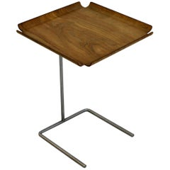 Mid-Century Modern George Nelson Early Edition Side Tray Table, 1950s, Wood