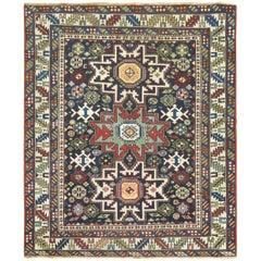 Caucasian Shirvan Square Rug