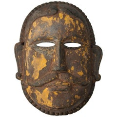 Wooden Mask, Tharu of Nepal, Early 20th Century