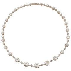 Antique Diamond Necklace by Mellerio Dits Meller