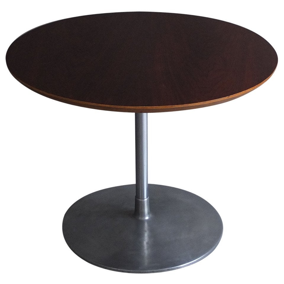 Fine French 1960s Round Gueridon or Side Table by Pierre Paulin