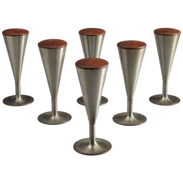 Swedish Set of Bar Stools by Leo Thafvelin for Johanson Design