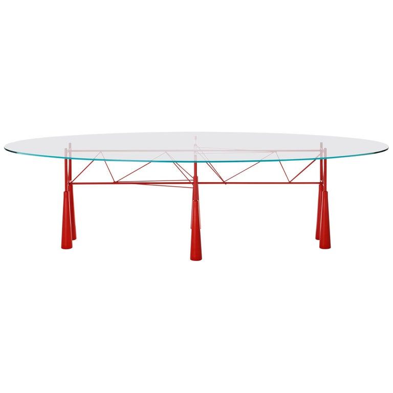 "Elliot Littman, ""Lybra Table"", Driade, Italy For Sale"