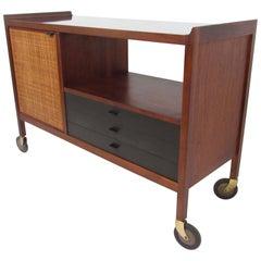 Milo Baughman Bar Cart for Directional, circa 1960s