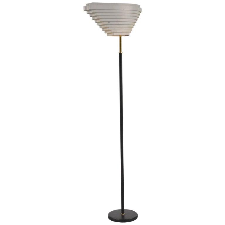 Alvar Aalto Floor Lamp for Valaistustyö, Finland, 1956