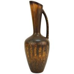 Gunnar Nylund Rorstrand Midcentury Pottery Jug