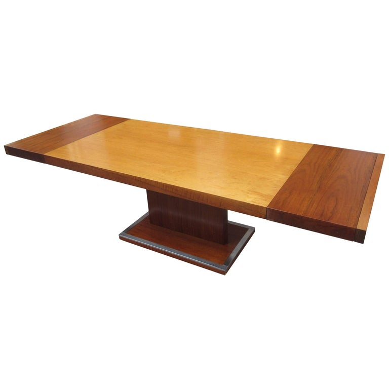 Founders Dining Table by Milo Baughman For Sale