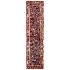 Antique Tribal Bakhtiari Persian Runner Rug