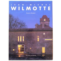 Book about Jean-Michel Wilmotte by Francis Rambert, Editions du Regard