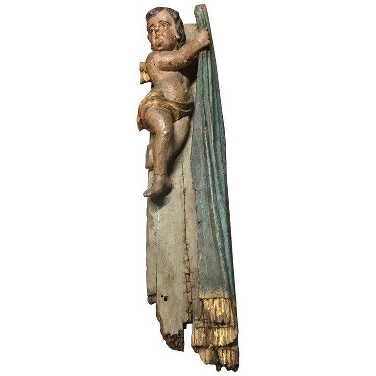 17th Century Italian Putto - Angel