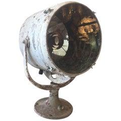 19th C. Antique Steel Ship Spotlight _SALE_