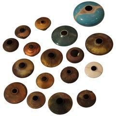 Modernist Raku Pottery Collection