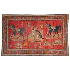 Vintage Caucasian Karabagh Rug