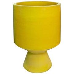 Okura Yellow Stoneware Planter