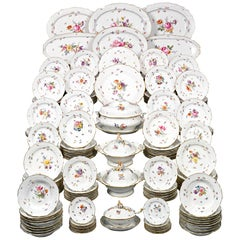 184-Piece Meissen Porcelain Dinner Service