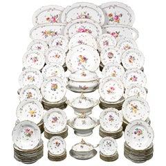 Meissen Porcelain Dinner Service, 189 Pieces