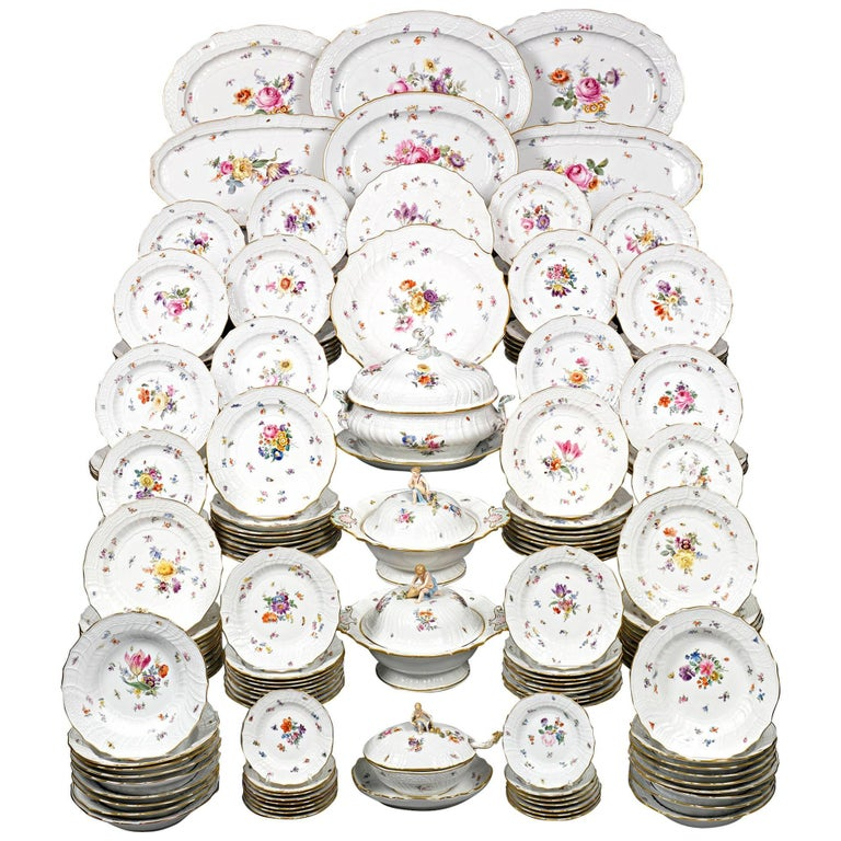 184-Piece Meissen Porcelain Dinner Service