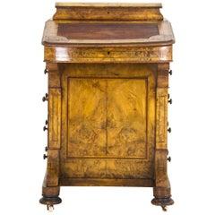 Antique Walnut Desk Davenport Desk  Scotland, 1860