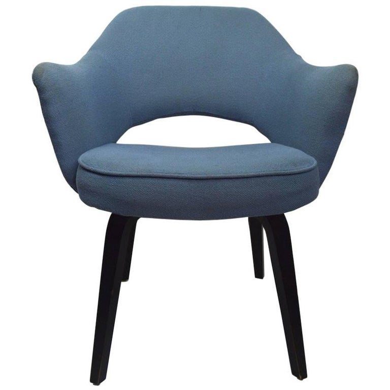 Early Saarinen Executive Dining Chair Armchair Version