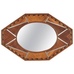 Petite French Art Deco Mirror, 1930s