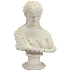 A Copeland Attributed Parian Bust of Clytie